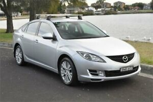 2010 Mazda 6 GH MY10 Classic Silver 5 Speed Auto Activematic Hatchback Five Dock Canada Bay Area Preview