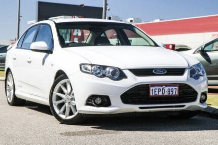 2014 Ford Falcon FG MkII XR6 White 6 Speed Sports Automatic Sedan East Rockingham Rockingham Area Preview
