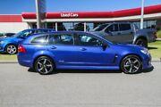2016 Holden Commodore VF II MY16 SV6 Sportwagon Black Blue 6 Speed Sports Automatic Wagon Rockingham Rockingham Area Preview