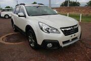2014 Subaru Outback B5A MY14 2.5i Lineartronic AWD Premium White 6 Speed Automatic Wagon The Gardens Darwin City Preview