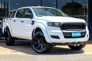 2018 Ford Ranger PX MkII 2018.00MY XL Double Cab Plus White 6 Speed Sports Automatic Utility Parramatta Parramatta Area Preview