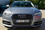 2015 Audi A6 4G MY15 S Line S tronic Grey 7 Speed Sports Automatic Dual Clutch Sedan Gosford Gosford Area Preview