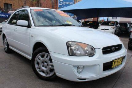 2005 Subaru Impreza MY05 GX (AWD) White 4 Speed Automatic Hatchback