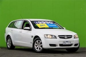 2010 Holden Commodore VE II Omega Sportwagon White 6 Speed Sports Automatic Wagon Ringwood East Maroondah Area Preview