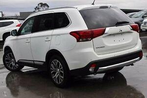 2015 Mitsubishi Outlander White Constant Variable Wagon Nunawading Whitehorse Area Preview