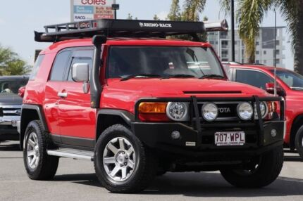 2016 Toyota FJ Cruiser GSJ15R MY14 Red/Black 5 Speed Automatic Wagon Upper Mount Gravatt Brisbane South East Preview