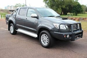 2014 Toyota Hilux KUN26R MY14 SR5 Double Cab Graphite 5 Speed Automatic Dual Cab The Gardens Darwin City Preview