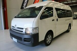 2005 Toyota Hiace RZH125R Commuter White 5 Speed Manual Bus