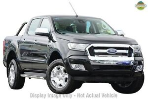 2016 Ford Ranger PX MkII XLT Double Cab Jet Black 6 Speed Sports Automatic Utility Yeerongpilly Brisbane South West Preview