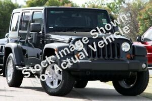 2013 Jeep Wrangler JK MY2013 Unlimited Sport Black 5 Speed Automatic Softtop Victoria Park Victoria Park Area Preview