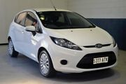 2012 Ford Fiesta WT Zetec White 5 Speed Manual Hatchback Prospect Prospect Area Preview