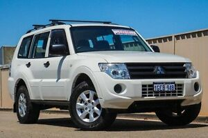 2014 Mitsubishi Pajero NW MY14 GLX White 5 Speed Sports Automatic Wagon Pearsall Wanneroo Area Preview