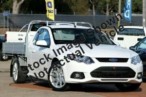 2013 Ford Falcon White Sports Automatic Cab Chassis Heidelberg Heights Banyule Area Preview