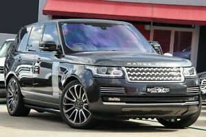 2016 Land Rover Range Rover L405 16.5MY Autobiography SDV8 LWB Black 8 Speed Sports Automatic Wagon Petersham Marrickville Area Preview