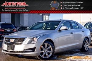 2015 Cadillac ATS Sedan AWD|Cadillac CUE & Surround Sound Pkg|17