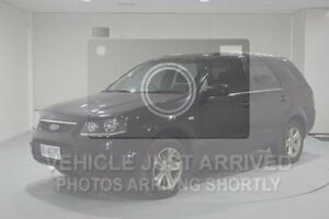 2010 Ford Territory SY Mkii TX Black 4 Speed Sports Automatic Wagon Kings Meadows Launceston Area Preview