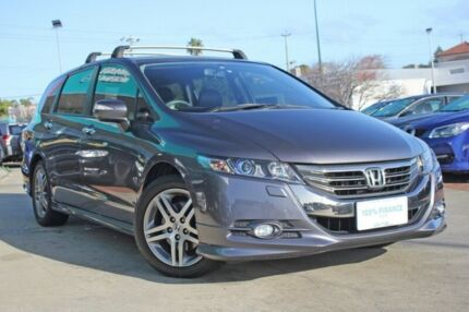 2013 Honda Odyssey RB MY13 Luxury Grey 5 Speed Automatic Wagon Victoria Park Victoria Park Area Preview