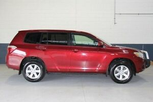 2008 Toyota Kluger GSU45R KX-R AWD Red 5 Speed Sports Automatic Wagon Hillcrest Port Adelaide Area Preview
