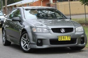 2010 Holden Commodore VE II SV6 Alto Grey 6 Speed Manual Sedan Lansvale Liverpool Area Preview