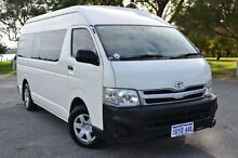 2012 Toyota Hiace KDH223R MY12 Commuter High Roof Super LWB French Vanilla 4 Speed Automatic Bus Claremont Nedlands Area Preview