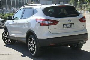 2014 Nissan Qashqai J11 TI (4x2) White Continuous Variable Wagon Petersham Marrickville Area Preview