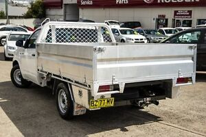 2012 Toyota Hilux TGN16R MY12 Workmate White 5 Speed Manual Cab Chassis Blacktown Blacktown Area Preview