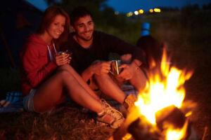 Bois pour feu de camps (camping)