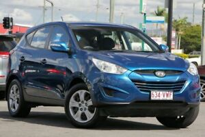 2011 Hyundai ix35 LM MY12 Active Blue 6 Speed Sports Automatic Wagon Brendale Pine Rivers Area Preview