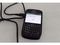 8520 Blackberry in excellent condition Unlocked