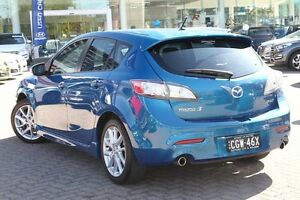 2012 Mazda 3 BL MY13 SP25 Blue 5 Speed Automatic Hatchback Zetland Inner Sydney Preview