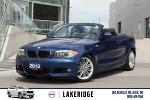 2013 BMW 128i Convertible ONLY 46,500KM! AUTO/M-SPORT
