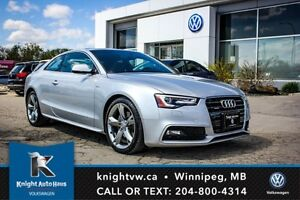 2013 Audi A5 w/ S Line Pkg/Leather/Sunroof