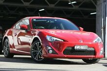 2012 Toyota 86 ZN6 GTS Red 6 Speed Sequential Auto Coupe Mosman Mosman Area Preview