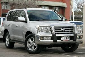 2011 Toyota Landcruiser VDJ200R MY10 VX Silver Pearl 6 Speed Sports Automatic Wagon Adelaide CBD Adelaide City Preview