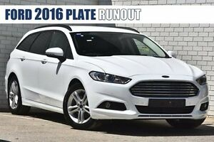 2016 Ford Mondeo MD Ambiente SelectShift Frozen White 6 Speed Sports Automatic Wagon Woodbridge Swan Area Preview