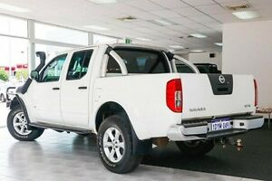 2012 Nissan Navara D40 S5 MY12 ST-X White 7 Speed Sports Automatic Utility Victoria Park Victoria Park Area Preview