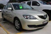 2006 Mazda 3 BK10F1 Neo Gold 4 Speed Sports Automatic Hatchback Maryville Newcastle Area Preview