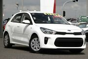 2017 Kia Rio YB MY18 S Clear White 4 Speed Sports Automatic Hatchback Moorooka Brisbane South West Preview