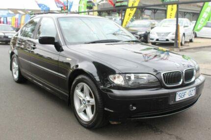 2003 BMW 320i E46 MY2003 Steptronic Black 5 Speed Sports Automatic Sedan