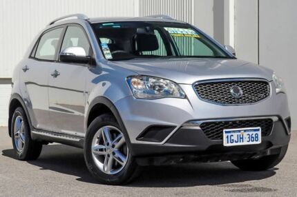 2011 Ssangyong Korando C200 S 2WD Silver 6 Speed Sports Automatic Wagon