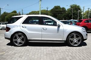 2007 Mercedes-Benz ML500 W164 MY08 Luxury Silver 7 Speed Sports Automatic Wagon Osborne Park Stirling Area Preview