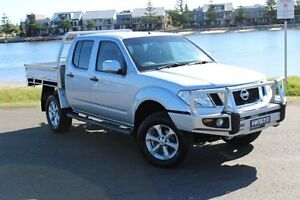 2012 Nissan Navara D40 S6 MY12 ST Silver 6 Speed Manual Utility Hamilton East Newcastle Area Preview