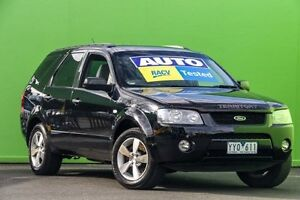 2007 Ford Territory SY TX Black 4 Speed Sports Automatic Wagon Ringwood East Maroondah Area Preview