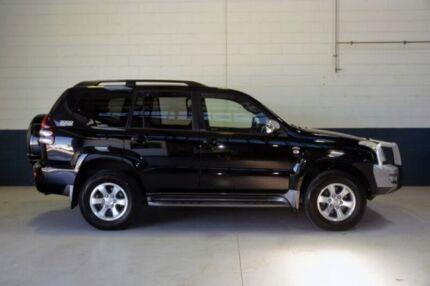 2008 Toyota Landcruiser Prado KDJ120R GXL Black 5 Speed Automatic Wagon Blair Athol Port Adelaide Area Preview
