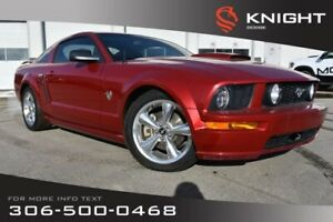 2009 Ford Mustang GT | Leather | Low KMs | Heated Seats