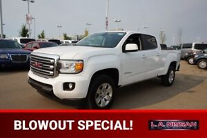 2016 GMC Canyon 4X4 CREWCAB SLE 3.6 Accident Free,  Back-up Cam,