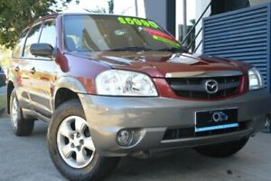 2005 Mazda Tribute MY2004 Limited Sport Red 4 Speed Automatic Wagon Ashmore Gold Coast City Preview