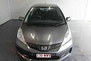 2013 Honda Jazz GE MY13 Vibe-S Grey 5 Speed Automatic Hatchback Parramatta Park Cairns City Preview