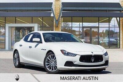 2014 Maserati Ghibli S Q4 Bianco Maserati Ghibli with 22,906 Miles available now!