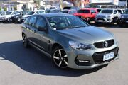 2016 Holden Commodore Vfii MY16 SV6 Black Edition Steel Grey 6 Speed Automatic Sportswagon Northbridge Perth City Area Preview